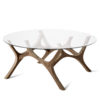 tables, furniture, interior-design, MOOSE COFFEE TABLE | WALNUT - moose papa walnut fs 3700 100x100
