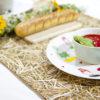 wohntextilien, wohnen, tischdecken, hochzeitsgeschenke, STROH TISCHLÄUFER - straw table runner 2 100x100