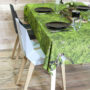 , MOSS TABLECLOTH - tablecloth moss 011 90x90