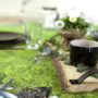 , MOSS TABLECLOTH - tablecloth moss 021 90x90