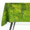 home-fabrics, wedding-gifts, tableclothes, interior-design, greenery-en, MOSS TABLECLOTH - tablecloth packshot M 100x100