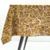 wohntextilien, wohnen, tischdecken, hochzeitsgeschenke, STROH TISCHDECKE - tablecloth packshot S 100x100