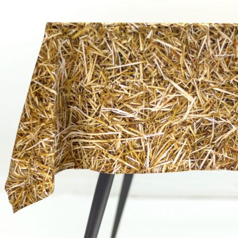 wohntextilien, wohnen, tischdecken, hochzeitsgeschenke, STROH TISCHDECKE - tablecloth packshot S 470x470
