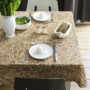 , STRAW TABLECLOTH - tablecloth straw 011 90x90