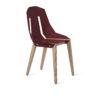 chairs, furniture, interior-design, greenery-en, DIAGO CHAIR - diago basic oak royal RAL 3005 fs 100x100