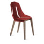 , DIAGO STUHL | WALNUSS - diago basic walnut coral red fs 3700 90x90