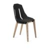 stuhle, mobel, wohnen, FELT DIAGO STUHL EICHE - diago felt oak black fs 100x100