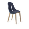 chairs, furniture, interior-design, FELT DIAGO CHAIR - diago felt oak blue fs 100x100
