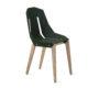 , FELT DIAGO STUHL EICHE - diago felt oak dark green fs 90x90