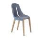 , FELT DIAGO STUHL EICHE - diago felt oak light blue fs 90x90