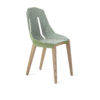 chairs, furniture, interior-design, FELT DIAGO CHAIR - diago felt oak mint fs 100x100
