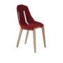 , FELT DIAGO STUHL EICHE - diago felt oak red fs 90x90