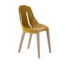 chairs, furniture, interior-design, FELT DIAGO CHAIR - diago felt oak yellow fs 100x100