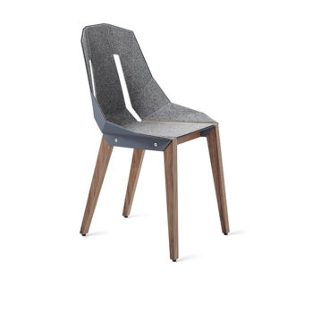 , FELT DIAGO CHAIR | WALNUT - diago felt walnut blue grey fs lowres 350x350