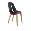 chairs, furniture, interior-design, LEATHER DIAGO CHAIR - diago leather oak royal fs 100x100