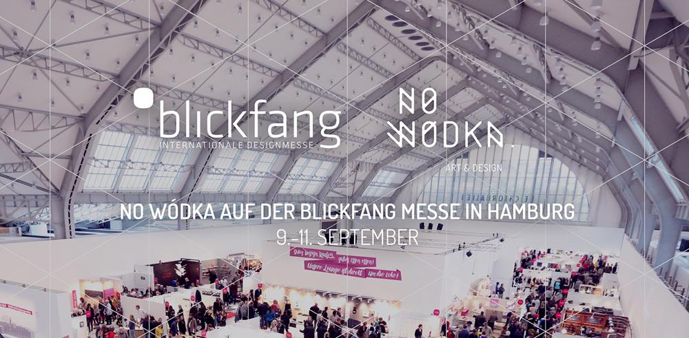 NO WÓDKA auf der BLICKFANG Messe in Hamburg