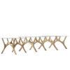 tables, furniture, interior-design, MOOSE COFFEE TABLE   OAK - moose oak comp2 3700 100x100