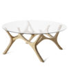 tables, furniture, interior-design, MOOSE COFFEE TABLE   OAK - moose papa oak fs 3700 100x100