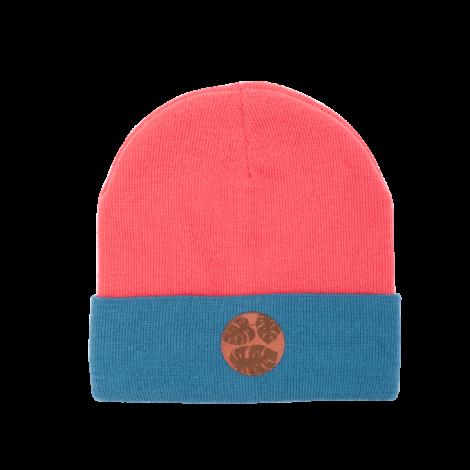 , MÜTZE VINTAGE - 9 rozowa niebieska liscie 470x470
