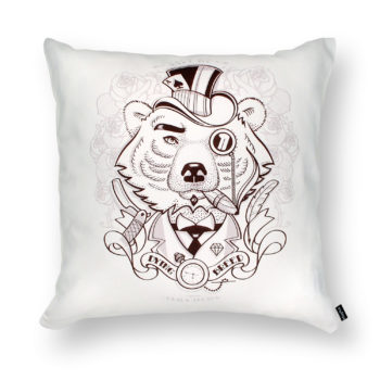 , ADMIRABLE BEAR PILLOW - DB bear packshot 350x350
