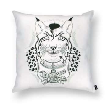 , LYNX - A DECENT GUY PILLOW - DB lynx packshot 350x350