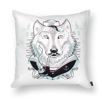, SEA WOLF PILLOW - DB wolf packshot 350x350