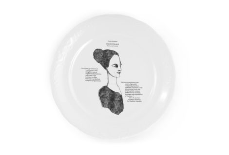 porcelain_and_ceramics, plates, interior-design, PLATE GREAT INVENTORS - Great Inventors talerz 470x319
