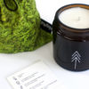 home-accessories, interior-design, candles, FOREST - SCENTED SOY CANDLE - candle forest closeup 100x100