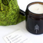 , FOREST - SCENTED SOY CANDLE - candle forest closeup 90x90
