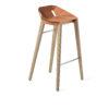 stools, furniture, interior-design, DIAGO BAR STOOL OAK - hoker diago basic 75 oak NCS S2050 Y60R fs 100x100