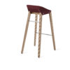 stools, furniture, interior-design, DIAGO BAR STOOL OAK - hoker diago basic 75 oak royal RAL 3005 bs 100x100