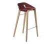 stools, furniture, interior-design, DIAGO BAR STOOL OAK - hoker diago basic 75 oak royal RAL 3005 fs 100x100