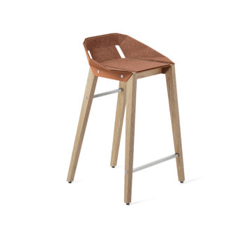 stools, interior-design, furniture, FELT DIAGO KITCHEN STOOL OAK - hoker diago felt 62 oak NCS S2050 Y60R fs 350x350