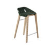 hocker, mobel, wohnen, FELT DIAGO KÜCHENHOCKER - hoker diago felt 62 oak dark green fs 100x100