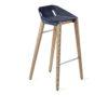 hocker, mobel, wohnen, FELT DIAGO BARHOCKER - hoker diago felt 75 oak blue fs 100x100