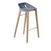 hocker, mobel, wohnen, FELT DIAGO BARHOCKER - hoker diago felt 75 oak light blue fs 100x100