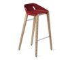 hocker, mobel, wohnen, FELT DIAGO BARHOCKER - hoker diago felt 75 oak red fs 100x100