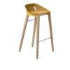 hocker, mobel, wohnen, FELT DIAGO BARHOCKER - hoker diago felt 75 oak yellow fs 100x100