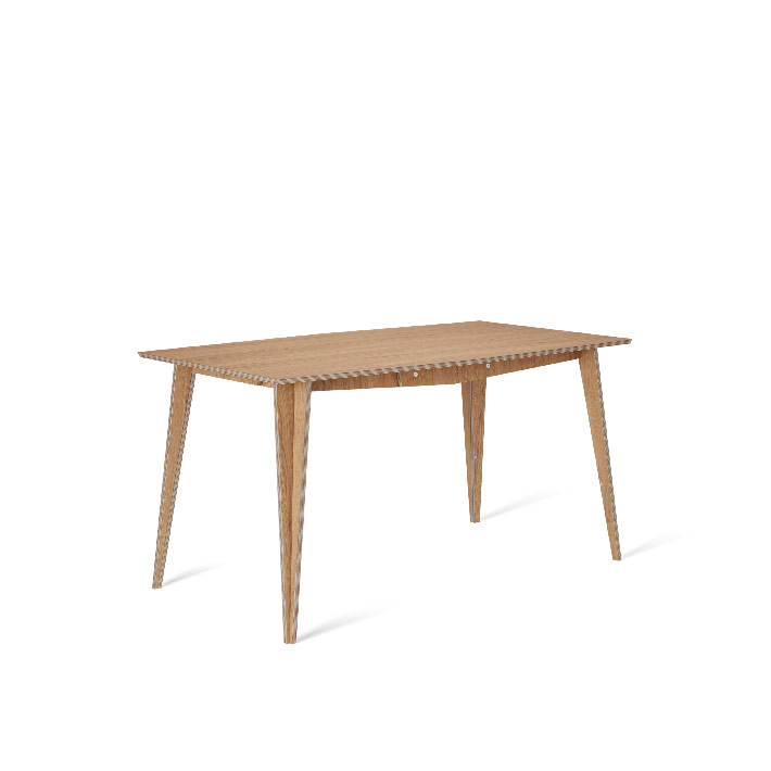 tables, interior-design, furniture, MACIEK RECTANGULAR TABLE | 145CM - maciek fi145 oak fs lowres