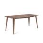 , MACIEK RECTANGULAR TABLE | 175CM - maciek fi175 walnut fs 90x90