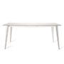 , MACIEK RECTANGULAR TABLE | 175CM - maciek fi175 white fr 90x90