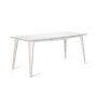 , MACIEK RECTANGULAR TABLE | 175CM - maciek fi175 white fs 90x90