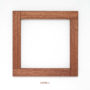 , FRAME HANNYA - sapelli frame no 15390 3 90x90