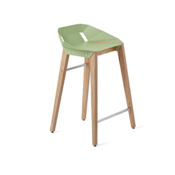 stools, interior-design, greenery-en, furniture, DIAGO KITCHEN STOOL OAK - stool diago basic 62 oak mint green fs lowres 350x350