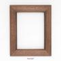 , FRAME KOI - walnut frame no 15352 3 90x90