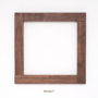 , FRAME HANNYA - walnut frame no 15393 3 90x90