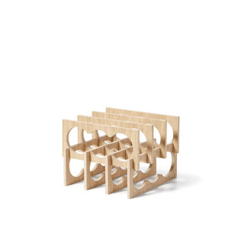 wine-racks, wedding-gifts, interior-design, home-accessories, WINE RACK WINIO - winio oak fs lowres 350x350