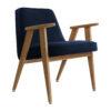 sessel, mobel, wohnen, greenery, SESSEL 366 VELVET - 366 Concept 366 Armchair W02 Velvet Indigo 100x100