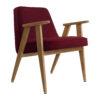 sessel, mobel, wohnen, greenery, SESSEL 366 VELVET - 366 Concept 366 Armchair W02 Velvet Merlot 100x100