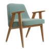sessel, mobel, wohnen, greenery, SESSEL 366 VELVET - 366 Concept 366 Armchair W02 Velvet Mint 100x100